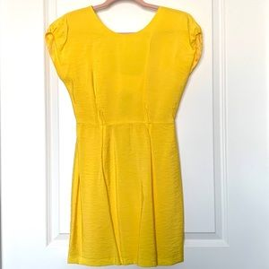TWELTH STREET by CYNTHIA VINCENT Sexy Yellow Dress